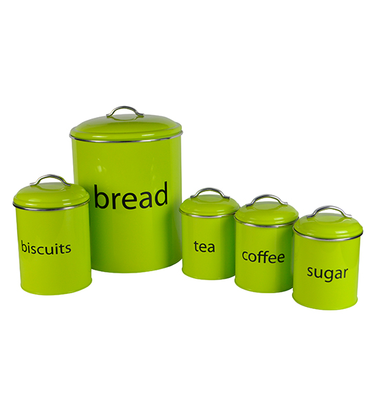 Exceptionnel Lime Green Storage Set